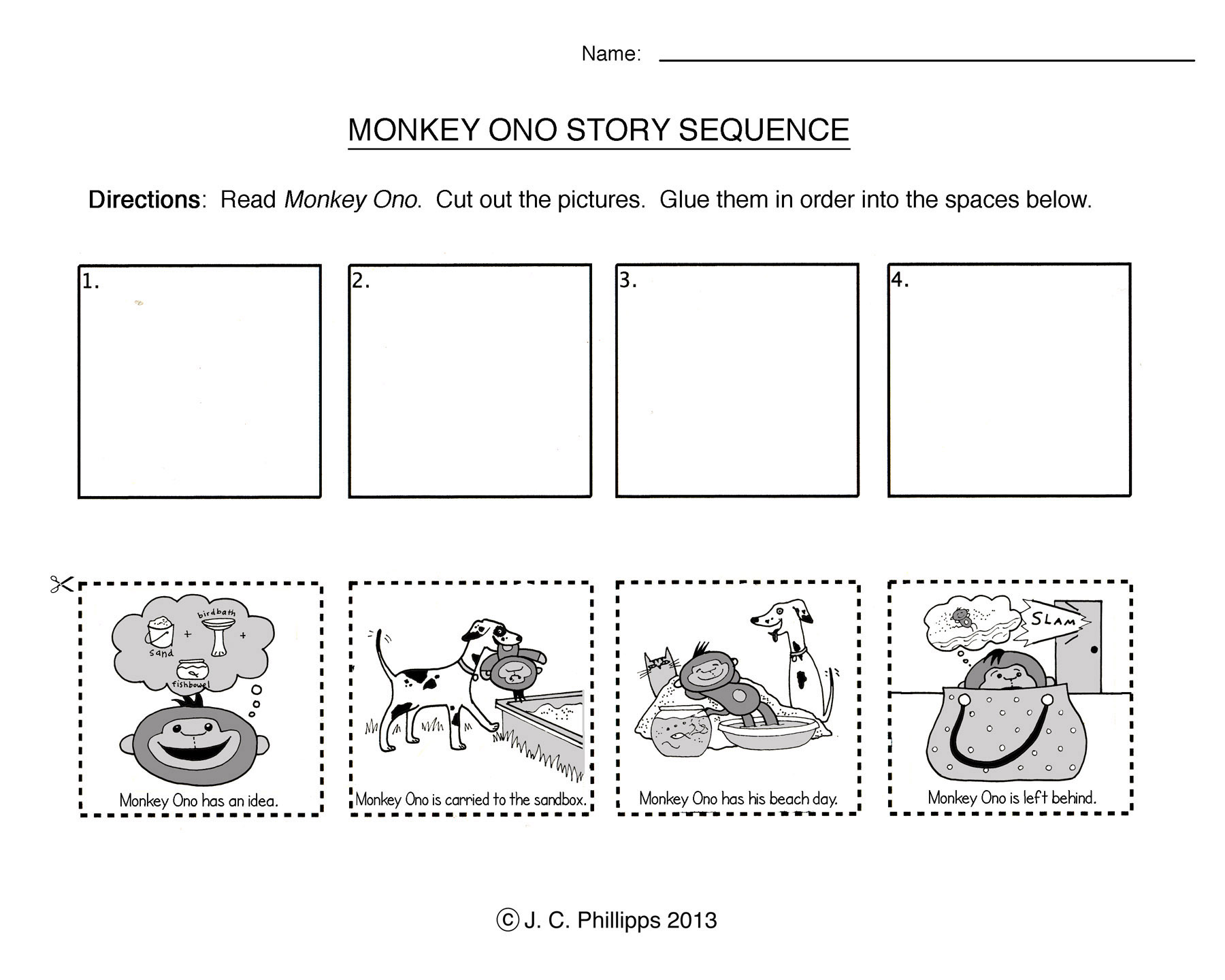Kindergarten Sequencing Worksheets – Sequencing Worksheets for Kindergarten