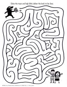 Wink Book maze