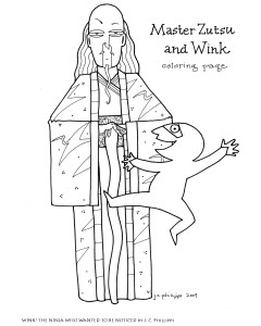 wink_coloring_sheet
