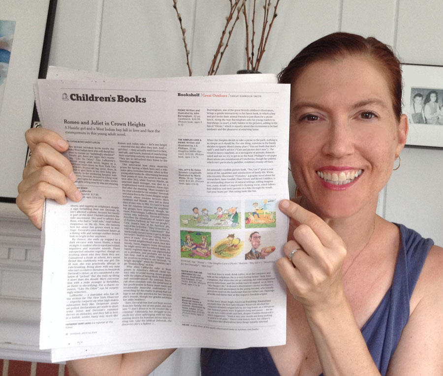 The Simples Love A Picnic is featured in the New York Times!